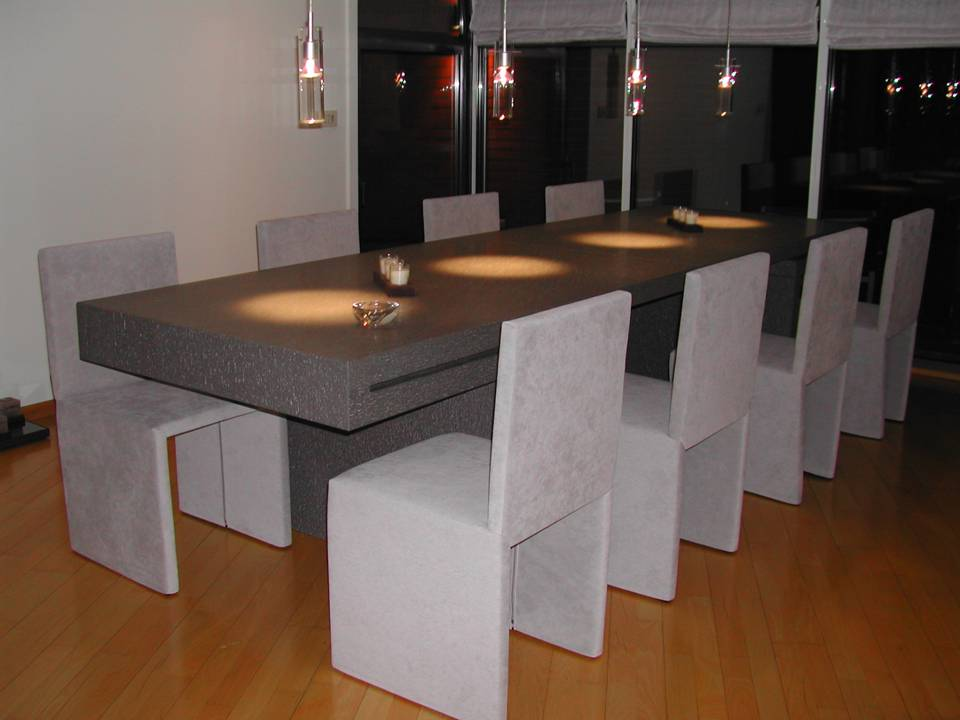 table marbre table en pierre de lave. Black Bedroom Furniture Sets. Home Design Ideas